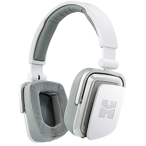 HIFIMAN Edition S Close/Open Back Portable On-Ear Dynamic Headphones White Lightning