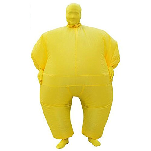 THEE Inflatable Sumo Wrestler Costumes Halloween ()