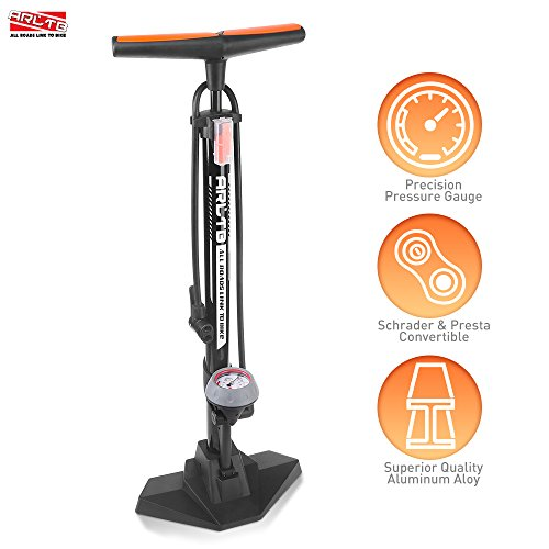 BOOCOSA Bike Floor Pump Set 10 in 1 with ACCURATE Pressure G
