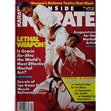 January 1989 Inside Karate Magazine Rorion Gracie Cover