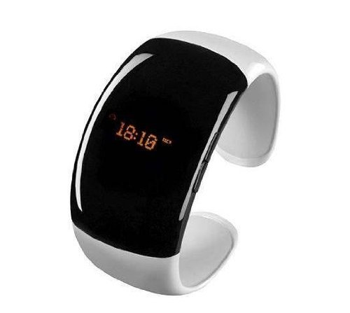 Design Bluetooth Bracelet Vibrating-Caller W/ LCD ID Alert Vibration Wristwatch Watch Digital time