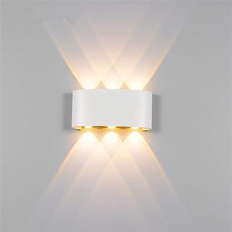 6W Lampada da parete a LED applique per Interni Esteri per ...
