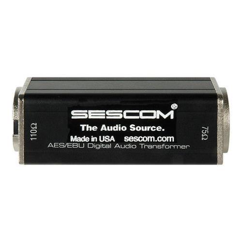 sescom-ses-aes-ebu-2-bnc-female-to-xlr-m-aes-ebu-impedance-transformer-01-to-6mhz-bandwidth