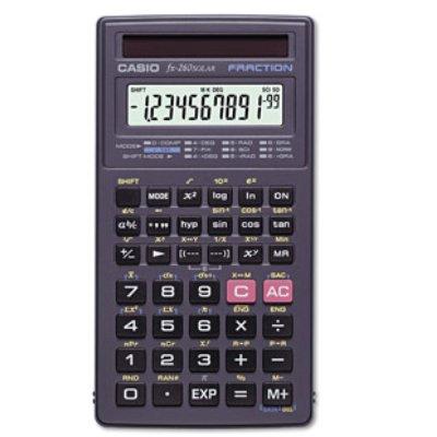Casio Calculator, Scientific,Solar Powered (FX260SLRSC) [...