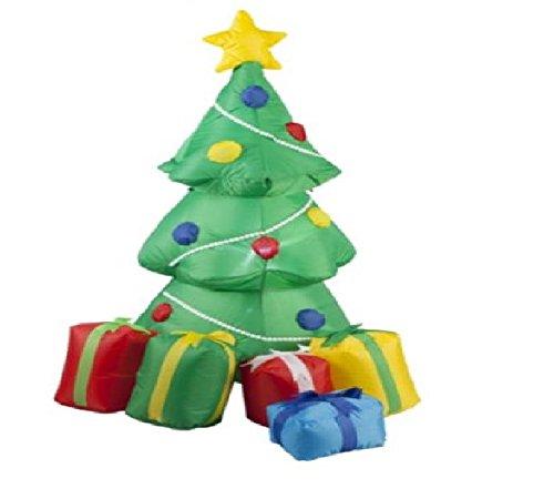 Árbol de Navidad de Papá Noel con regalos hinchable 1,2 m por ...