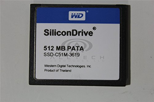 NEW SILICON SSD-C51M-3076 512MB SILICONDRIVE CF CARD MEMORY D321192