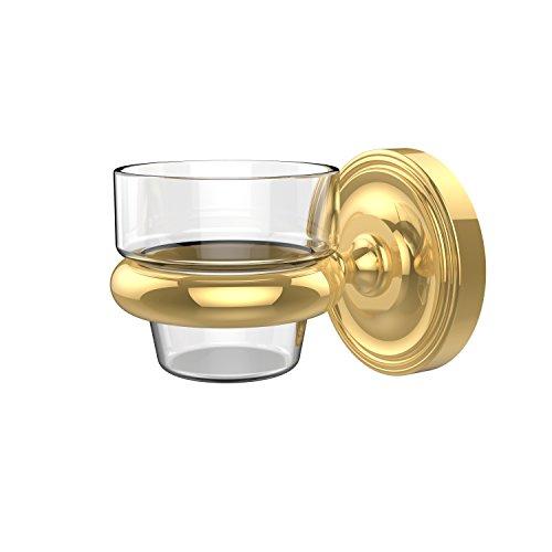 Brass Polished Votives - Allied Brass PR-64-PB Wall Mounted Votive Candle Holder, Polished Brass