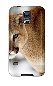 Awesome DlGkTHS10059BDsDR KarenStewart Defender Tpu Hard Case Cover For Galaxy S5- Cougar
