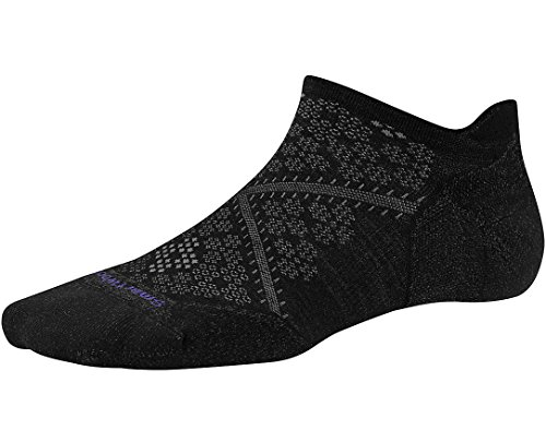 SmartWool PhD Run Light Elite Micro Sock - Women's Black Small