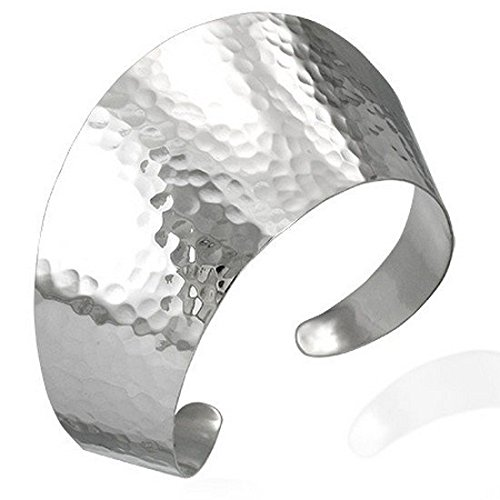 Sterling Silver Hammered Finis
