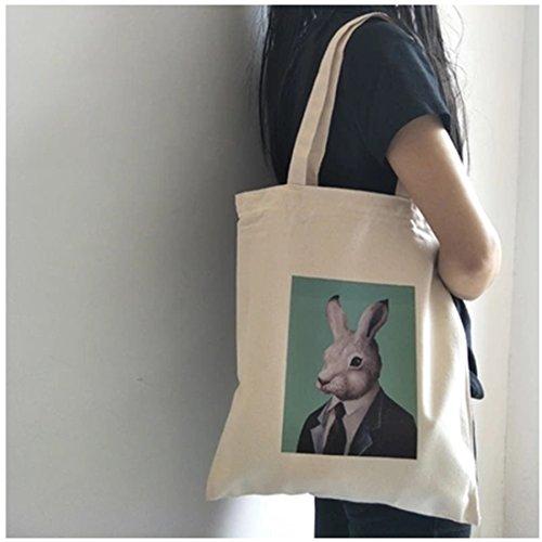 NOW femme l'épaule Green U Rabbit K Sac porter pour à à 5aAUIqA