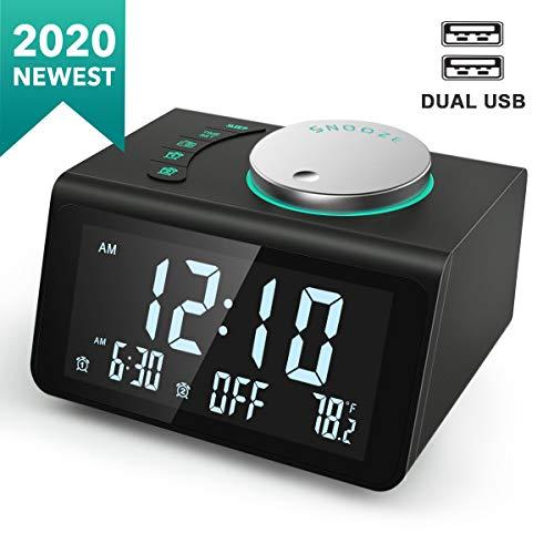ANJANK Small Digital Alarm