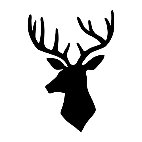 Dixie Belle Paint Company Deer Head Furniture Stencil 2 Sizes by Dixie Belle Paint Company