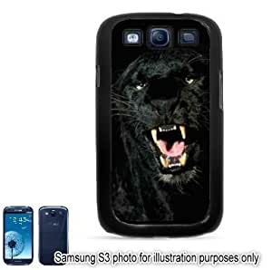Black Panther Mouth Photo Samsung Galaxy S3 i9300 Case Cover Skin Black