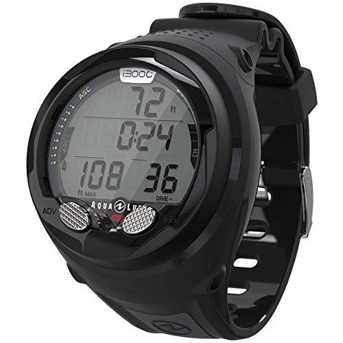 Gear Diving Aqualung - Aqua Lung I300c Wrist Dive Computer with Bluetooth Black/Grey