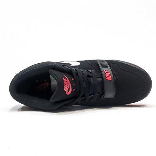 Nike Air Alphalution Black Pure Platinum Red - 47.5 EU