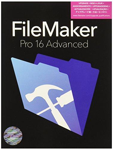 Price comparison product image FileMaker Pro 16 Advanced Upgrade Mac/Win Retail Box V16