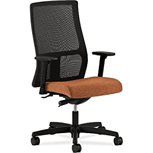 HON Ignition Series Mid-Back Work Chair - Mesh Computer Chair for Office Desk, Blaze (HIWM2)