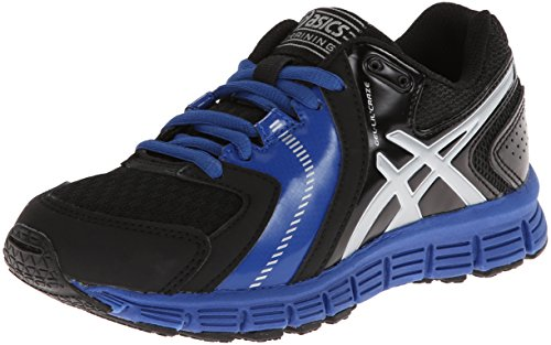 UPC 887749456288, Asics Gel-Lil' Craze Training Shoe (Little Kid/Big Kid),Black/Silver/Royal,1 M US Little Kid