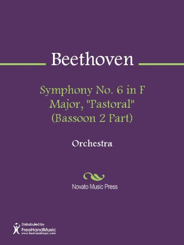 Symphony No. 6 in F Major, Pastoral (Bassoon 1 Part) - Bassoon 1