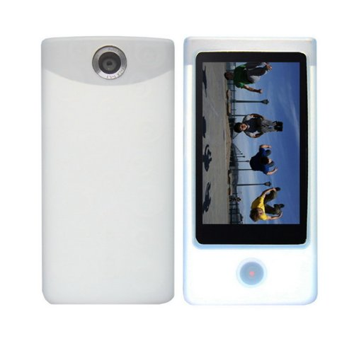 clear-white-soft-silicone-skin-case-fishbone-style-keychain-for-sony-bloggie-touch-mhs-ts20-mhs-ts10