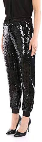 VERSACE JEANS COUTURE A1HVA10604835 Elegant Women Black 42