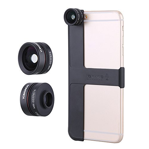 YONGNUO Camera Photo 0 65X Wide Angle Macro Lens with MP I6 plus Shell for Apple iPhone6 plus / 6S plus