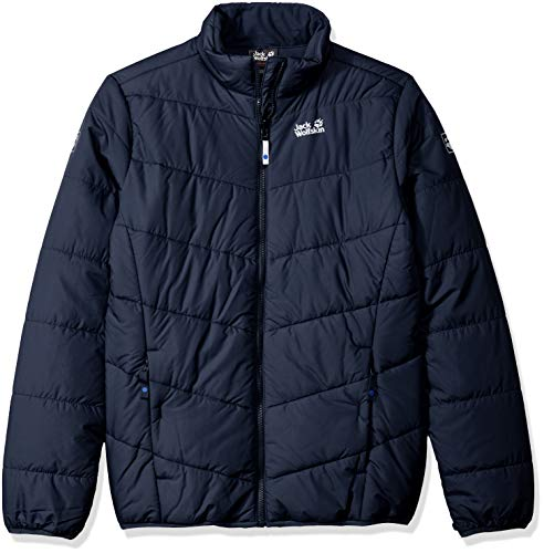Jack Wolfskin Girl's Kokkola Jacket, Midnight Blue, - Midnight Taffeta Jacket