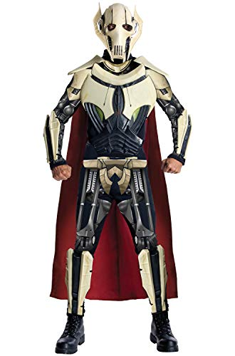 Obscene Halloween Costumes (Star Wars Adult Deluxe General Grievous Costume, Multi,)