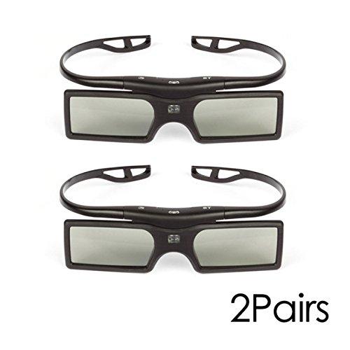 SainSonic 3D Glasses (2 Pack, SS-15B)