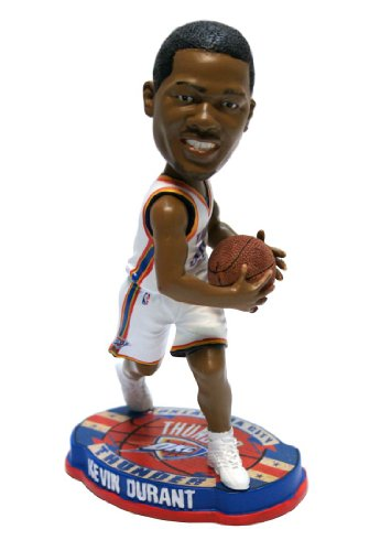 - Oklahoma City Thunder Kevin Durant Forever Collectibles Basketball Base Bobble Head