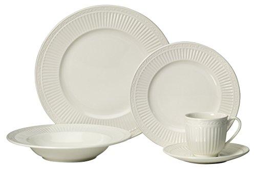 Mikasa 5223385 Italian Countryside 40-Piece Dinnerware Set, Service for 8