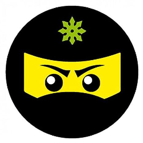1art1 Gaming - Icono Ninja, Verde Vinilo Decorativo Pegatina ...