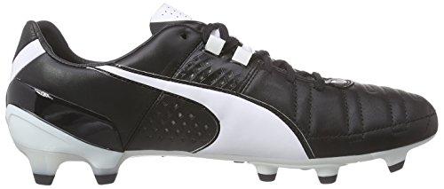 white Schwarz Football Fg De Chaussures 08 King Homme Puma Ii black Noir Xa8qw6x4vn