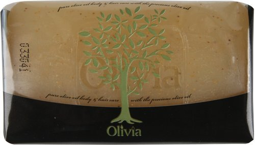 4-Pack - Olivia Natural Glycerine Exfoliating Body Soap