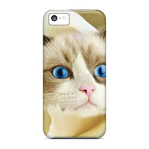 Ultra Slim Fit Hard AlexLeroyDavis Case Cover Specially Made For Iphone 5c- Seriously