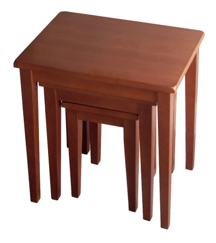 Winsome Wood Regalia 3 Piece Nesting Table