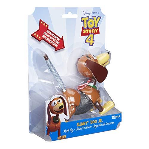 Slinky Disney Pixar Toy Story 4 Dog Jr Kids Pull Spring Toy from Slinky
