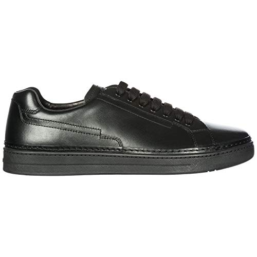 Baskets Calf Nevada Homme Noir Prada Cuir Sneakers Chaussures En 0nYOP
