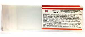Ink Master - Cartucho compatible EPSON T636A ORANGE para Epson Stylus Pro 7700 7890 7900 9700 9890 9900