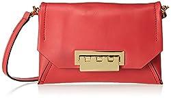 ZAC Zac Posen Eartha Envelope Cross Body Bag, Pink, One Size