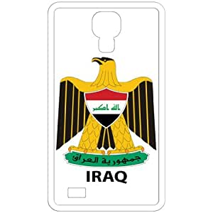 Iraq - Country Coat Of Arms Flag Emblem White Samsung Galaxy S4 i9500 Cell Phone Case - Cover