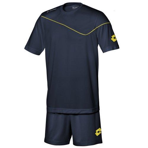 Lotto Mens Sports Football Kit Sigma T-Shirt (XXL) (Navy)
