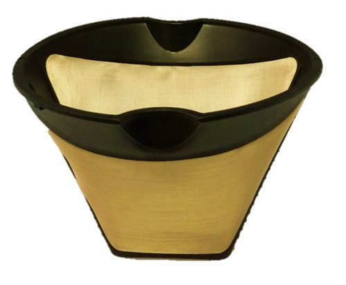 #4 Cone Shaped Permanent Coffee Filter with finger grips (Does not include handle) GoldTone Products