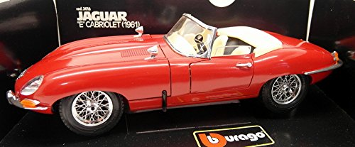 - Burago 1:18 scale 1961 Jaguar