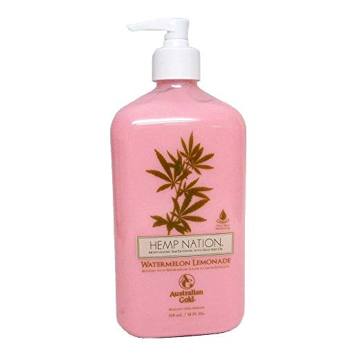 Hemp Nation Watermelon Lemonade Moisturizer 18 Oz