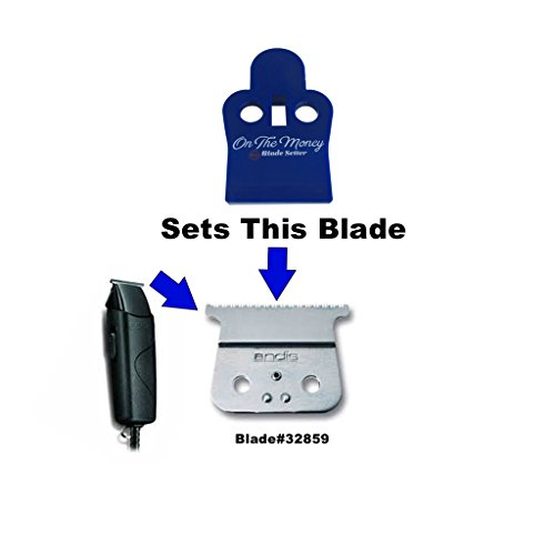 ON THE MONEY 10 Sec Blade Setter (Compatible with Andis Styliner II Blades) by The Rich Barber (Image #2)