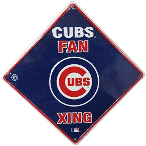 - Great American Chicago Cubs Fan XING Metal Sign