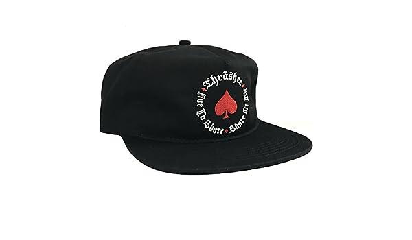 THRASHER - Gorra de béisbol - para Hombre Negro Negro: Amazon.es: Ropa y accesorios