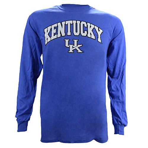 University of Kentucky Arch on a Blue Long Sleeve Shirt